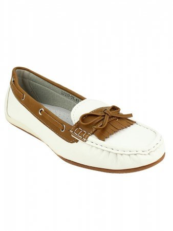 Mocassins color White OMODA, image 02