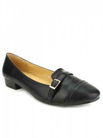 Ballerines Noires M&L SHOES, image 02