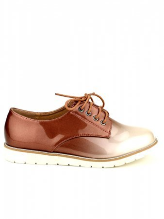 Derbies vernies Bi color WEIDES