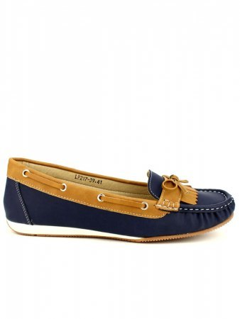 Mocassins color Marine OMODA