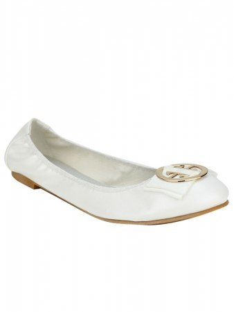 Ballerine white CINKS MODE