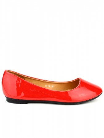 Ballerine Rouge vernie CH CREATION