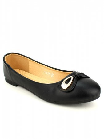 Ballerines color Noir CINKS, image 03