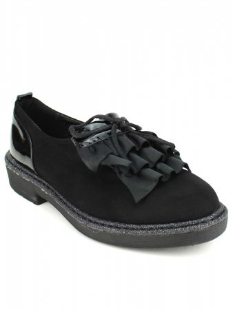 Derbies Black and Paillettes SHOISTA, image 02
