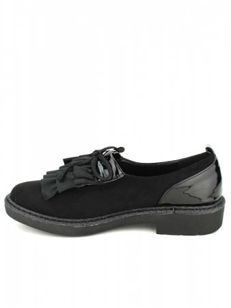 Derbies Black and Paillettes SHOISTA, image 03