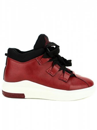 Basket bordeaux simili BELLOS