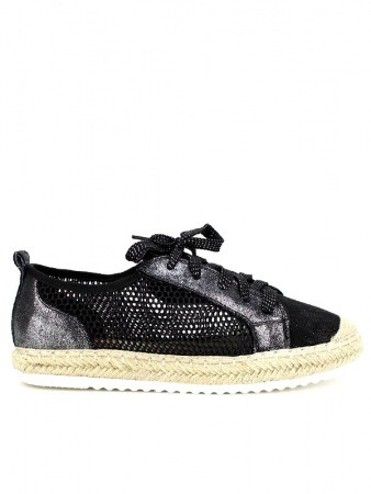 Derbies Espadrilles Black SIXTH SENS