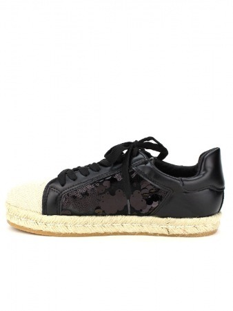 Basket Noire brillant LADY GLORY, image 03