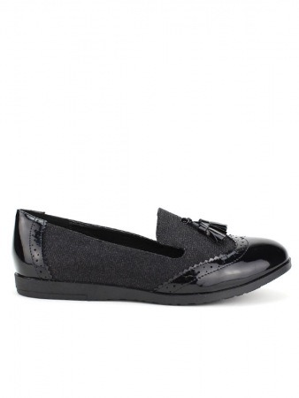Mocassin Black CINKS LOOKS, image 02