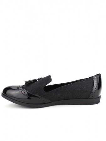 Mocassin Black CINKS LOOKS, image 03