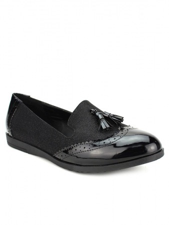 Mocassin Black CINKS LOOKS