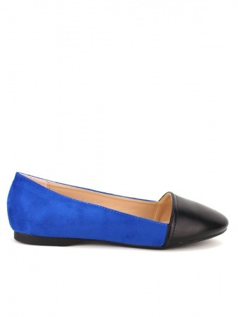 Ballerine Color Royal and Black KOY'S