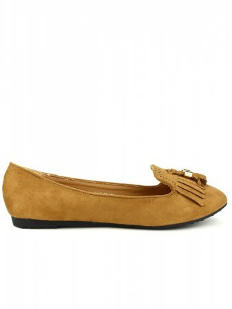 Mocassins simili peau camel CINKS, image 02