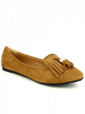 Mocassins simili peau camel CINKS