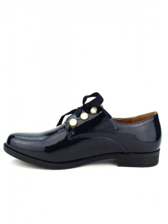 Derbies Blue marine vernies CINKS LOOKS, image 03