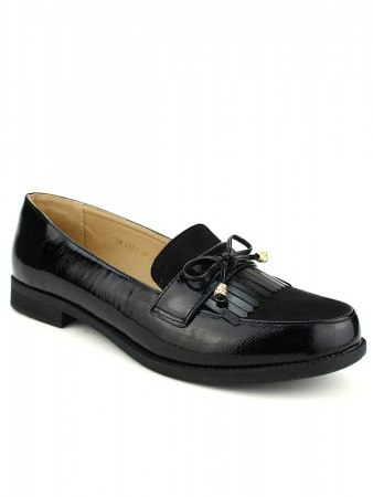 Derbies noires CINKS Grande pointure