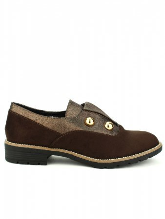 Derbies Marron R AND BE