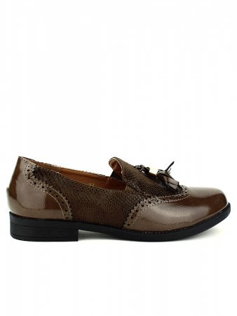 Derbies marron bi matière CINKS, image 02