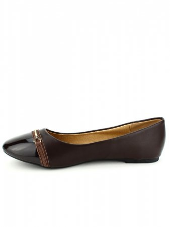 Ballerine marron CINKS, image 02