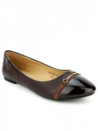 Ballerine marron CINKS, image 03