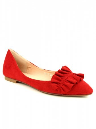 Ballerines Rouge LOV'IT, image 02