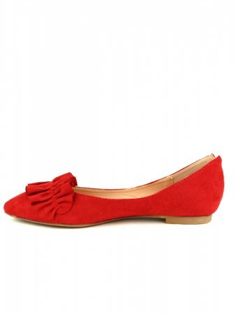 Ballerines Rouge LOV'IT, image 03