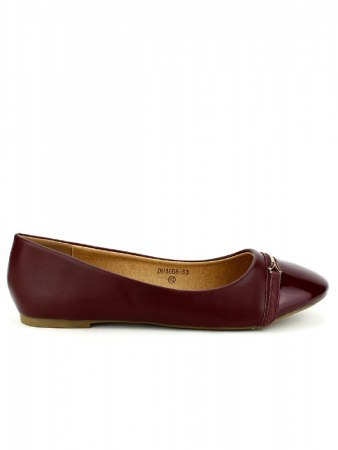 Ballerine bordeaux CINKS ME
