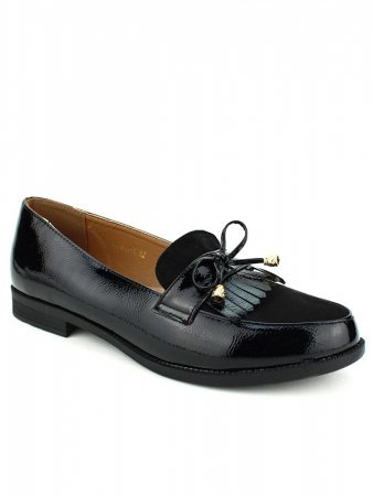 Derbies noires brillant CINKS