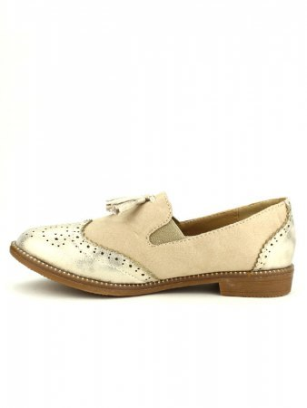 Derbies beige OMODA, image 03