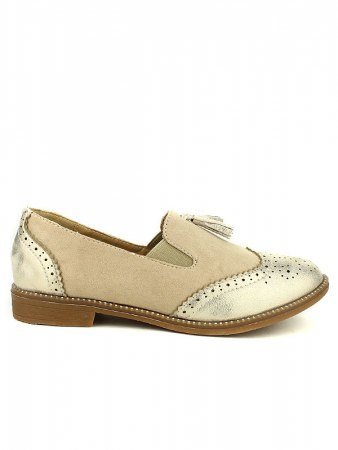 Derbies beige OMODA