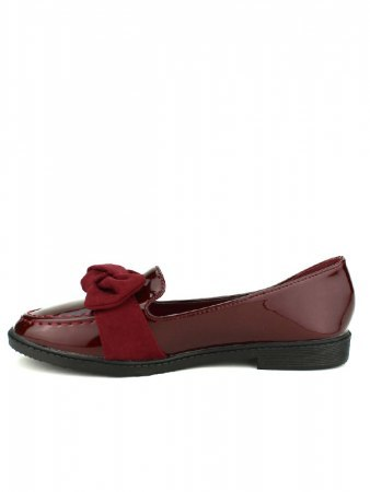 Derbies vernies color bordeaux JEOS, image 03