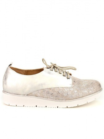 Derbies Color argent AZALEE