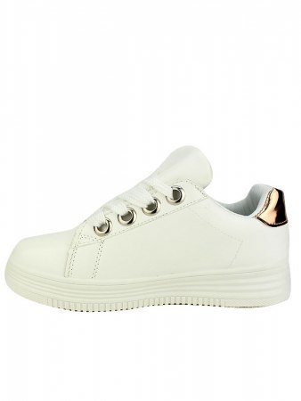 Baskets Blanches CINKS LOOKS, image 03