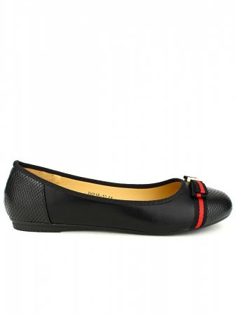 Ballerines Noires CINKS LOOK