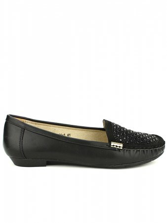 Derbies noires simili cuir CINKS