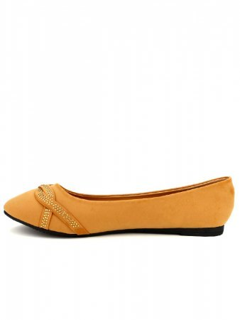 Ballerines Caramel CINKS LOOKS Strass, image 03