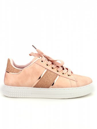 Sneakers Rose QUENN VIVI pailletes