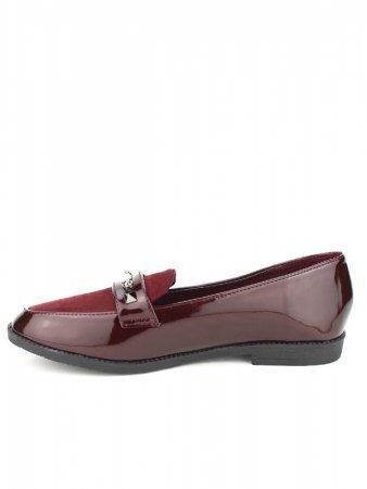 Derbies Bordeaux CINKS MODA Vernies, image 02