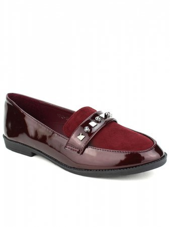 Derbies Bordeaux CINKS MODA Vernies, image 03