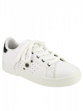 Sneakers Blanches EXQUILLY oeillets , image 02