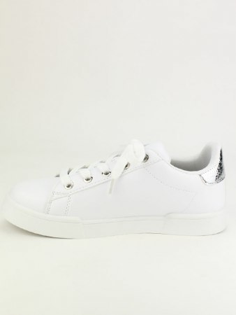 Sneakers Blanches EXQUILLY oeillets , image 03
