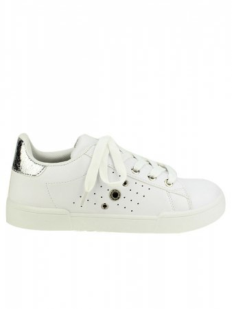 Sneakers Blanches EXQUILLY oeillets