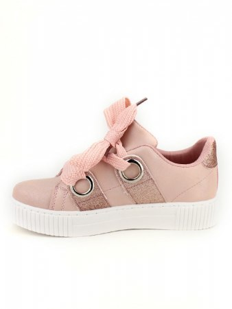 Sneakers Rose avec paillettes BE SPORT LOOK, image 04