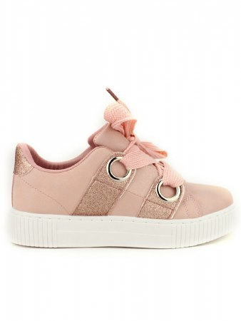 Sneakers Rose avec paillettes BE SPORT LOOK