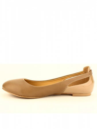 Ballerine Taupe clair Croco DUNDEE, image 03