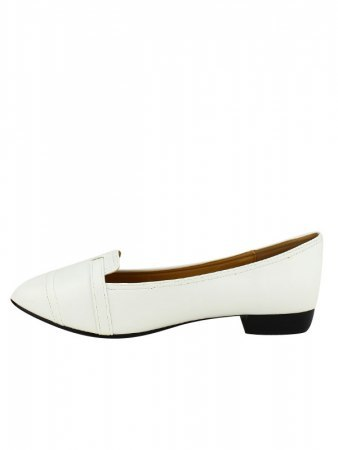Ballerines Blanches M&L SHOES, image 03