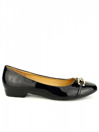 Ballerines Noires Vernies M&L SHOES