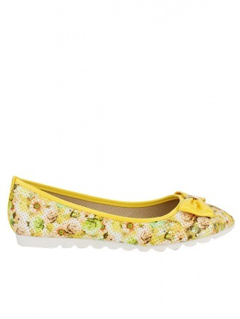 Ballerine FLOWERS YELLOWS
