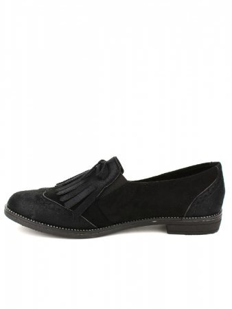 Derbies noires SIXTH SENS Simili cuir, image 02