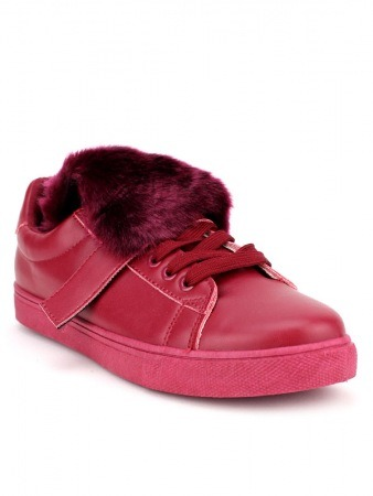 Basket SLIPPERS Bordeaux Mode